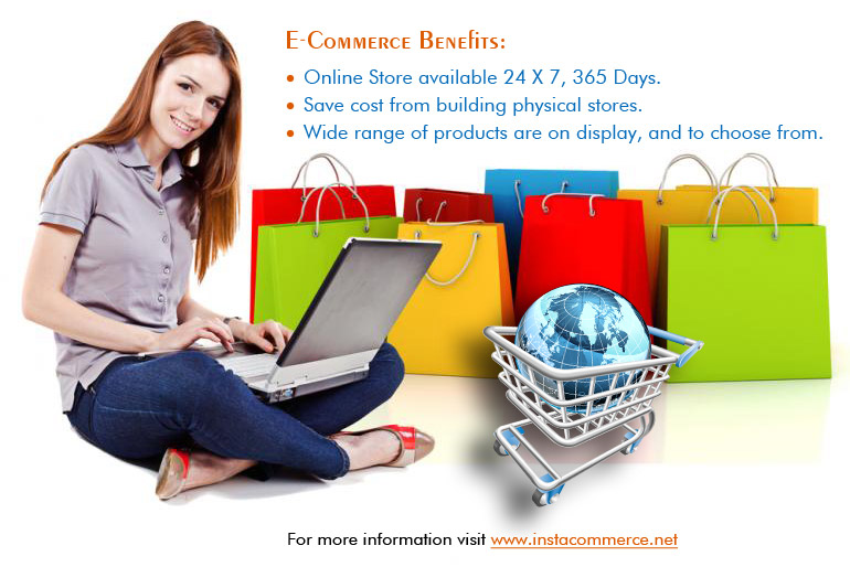 Key Business Benefits of using E-Commerce System